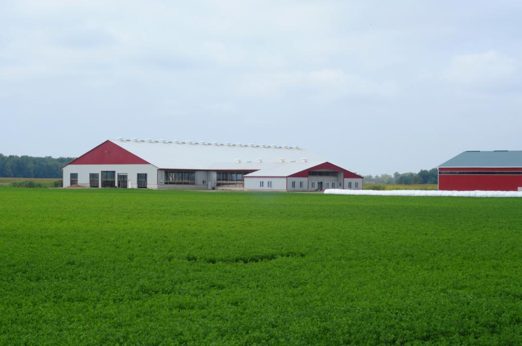 poľnohospodárska hala