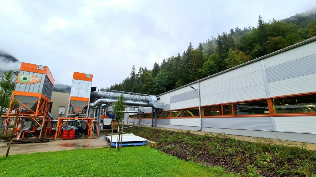 Oceľová hala pre výrobu