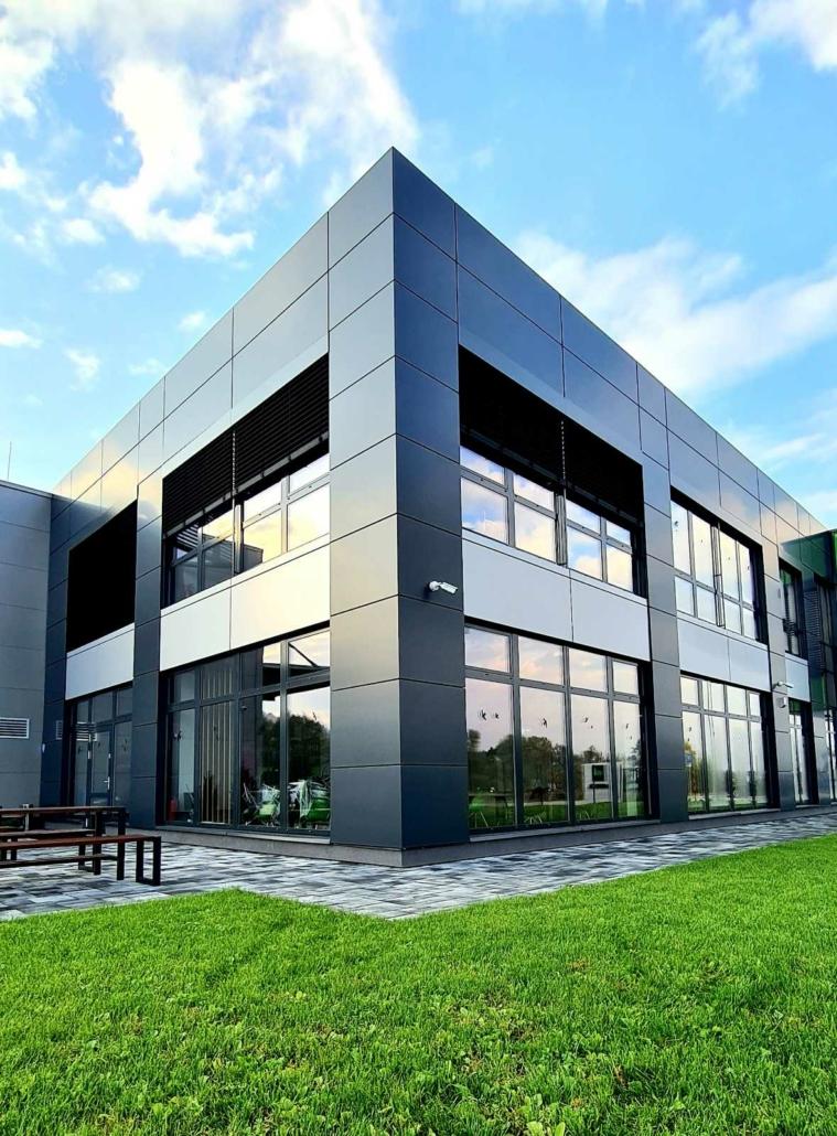 moderna montovana budova