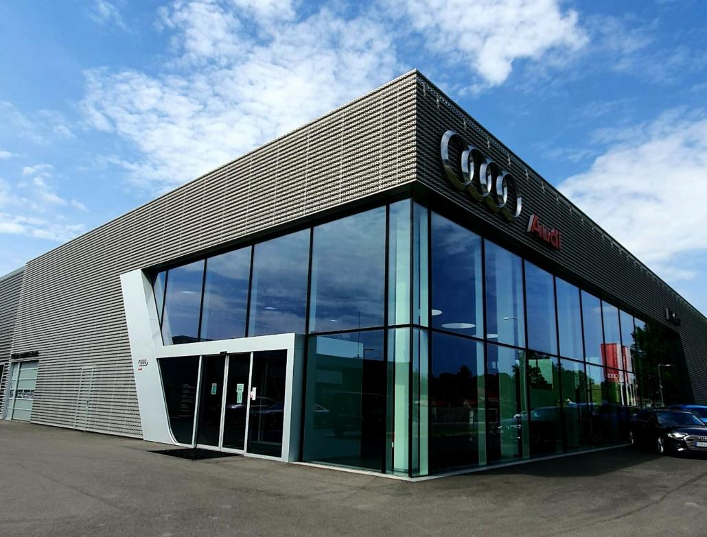 showroom pre predaj automobilov