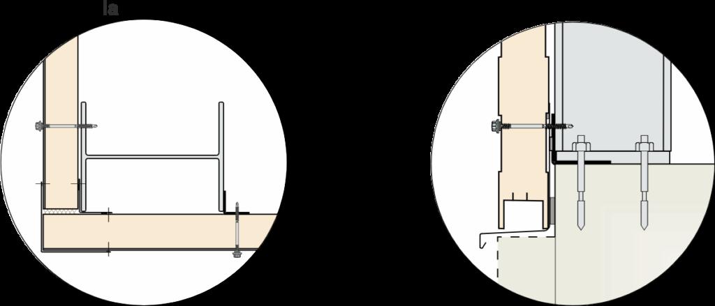 detail nárožia a soklu